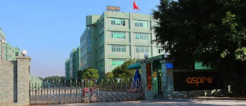 Завод Aspire в Шеньчжене