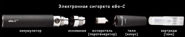 Инструкция для электронной сигареты Joye eGo-C