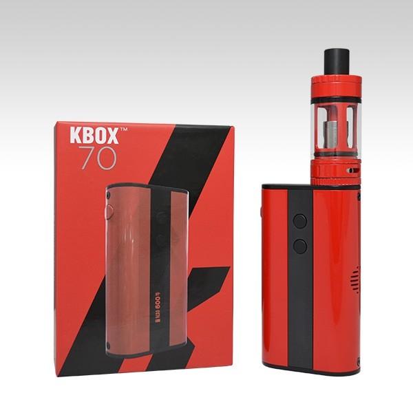 Готовый набор Kanger Kbox 70W + TopTank Mini красного цвета