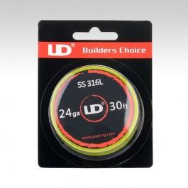 Нержавеющая проволока UD SS316L  0.51 мм (24 ga)