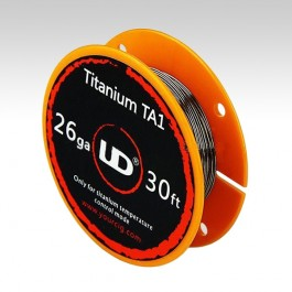 Титановая проволока UD Titanium TA1 0.4 мм (26 ga)