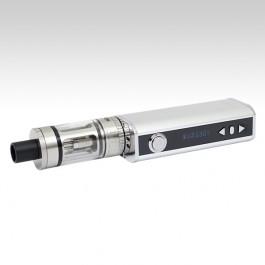 Eleaf iStick 40W TC + TopTank Mini стального цвета (дисплей)