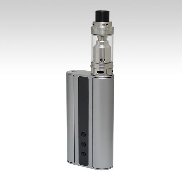 Eleaf iStick 100W TC + Vaporesso Gemini RTA серого цвета