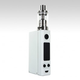 Joyetech eVic VTC Dual with Ultimo Kit белого цвета