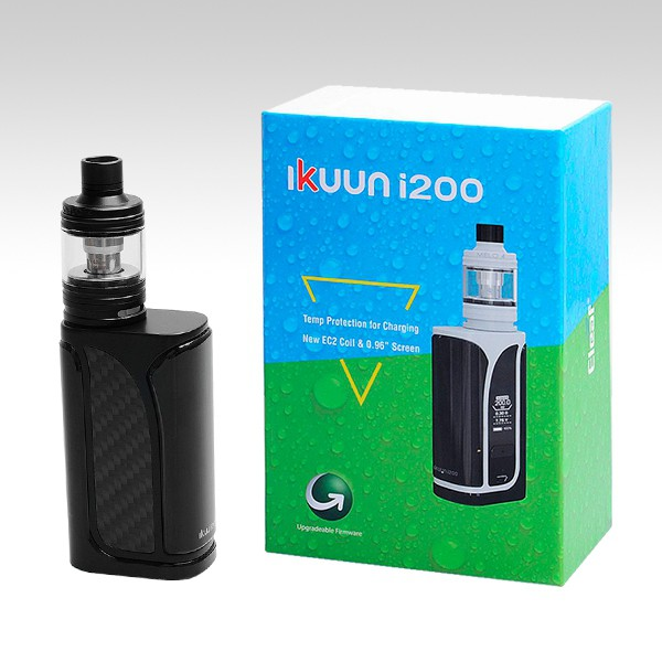 Eleaf iKuu i200 with MELO 4 Kit чёрного цвета