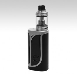 Eleaf iKonn 220 with ELLO Kit - Silver black (Стальной / Чёрный)