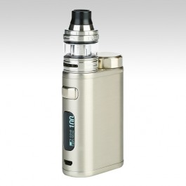 iStick Pico 21700 with ELLO Kit 100W TC, цвет: Brushed Silver