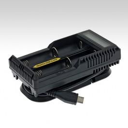 Зарядное устройство Nitecore UM20, удобное место для хранение провода