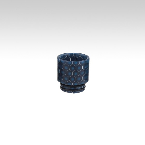 Мундштук RESIN с орингами (810 дрип тип) - Цвет: Blue(Синий)