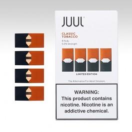Картридж для JUUL, вкус: CLASSIC TOBACCO
