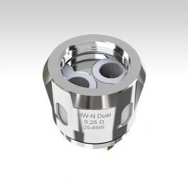 Испаритель Eleaf HW-N Dual 0.25 Ом, две спирали на сетке