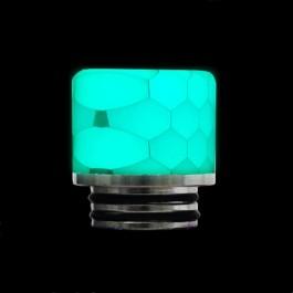 Мундштук 810 металл+Resin, цвет: Бежевый (светится в темноте)