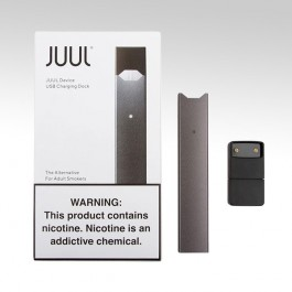 JUUL Device + USB Charging DOK, цвет: Grey (Серый)