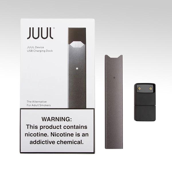 JUUL Device + USB Charging DOK, цвет: Grey (Серый)