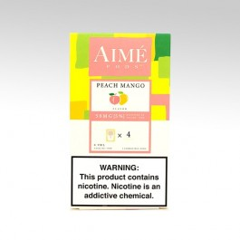 Картридж AIME PODS для JUUL, вкус: Peach Mango (Персик Манго)