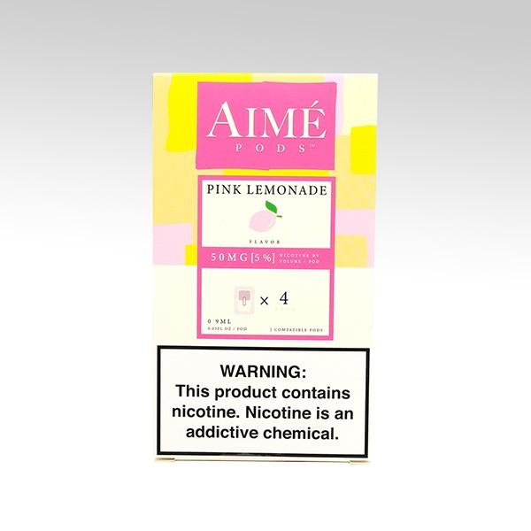 Картридж AIME PODS для JUUL, вкус: Pink Lemonade (Сливовый Лимонад)