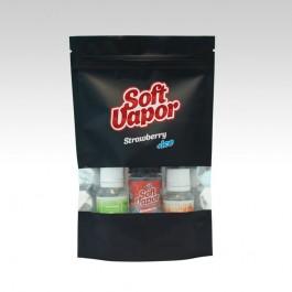 Soft Vapor POD SERIES Strawberry + ICE Kit