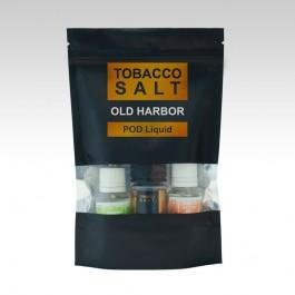Жидкость на солевом никотине Tobacco Salt Old Harbor