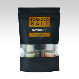 Жидкость на солевом никотине Tobacco Salt Davidoff