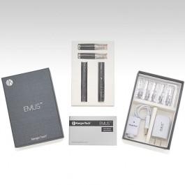 Набор электронных сигарет Kanger EMUS в упакованном виде