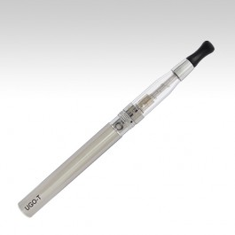 Электронная сигарета UGO-T + Aspire CE5 стального цвета