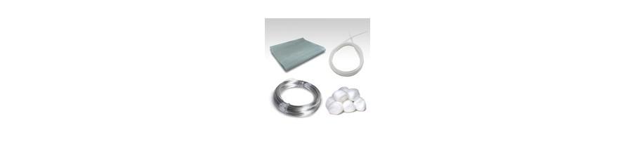 Материалы и инструменты для обслуживания электонных сигарет