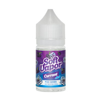 Soft Vapor POD SERIES Currant +ICE 30ml