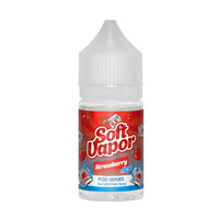 Soft Vapor POD SERIES Strawberry +ICE 30ml