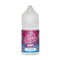 Soft Vapor POD SERIES Grape +ICE 30ml