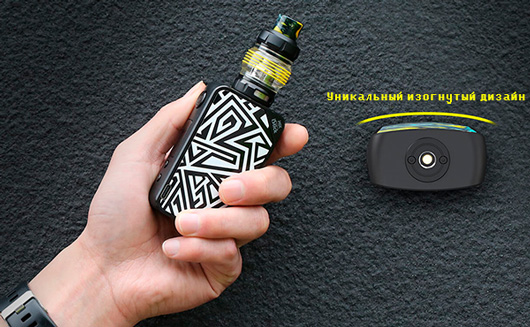 Eleaf iStick MIX with ELLO POP Kit изогнутый дизайн