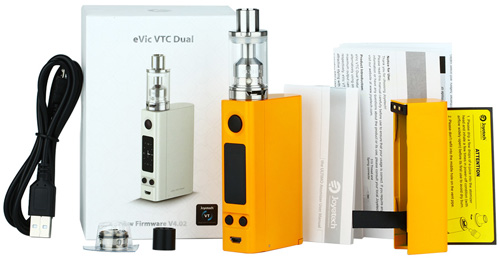 Комплектация Joyetech eVic VTC Dual with ULTIMO