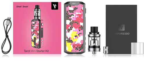 Комплектация Vaporesso TAROT MINI Kit