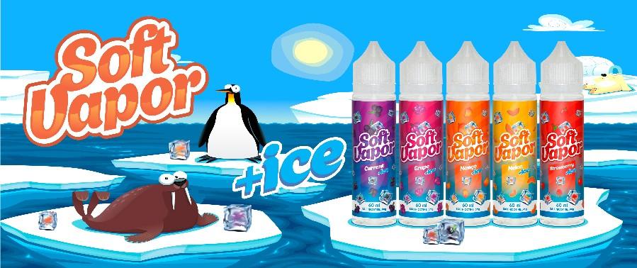 Жидкость Soft Vapor +ice